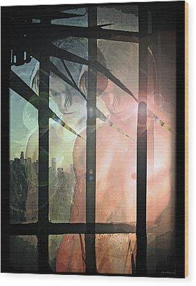 Reflections... Wood Print