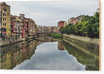 Reflections Wood Print by Marguerita Tan