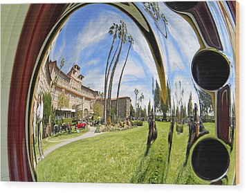 Wood Print featuring the pyrography Reflections Of A 1937 Cord by Shoal Hollingsworth