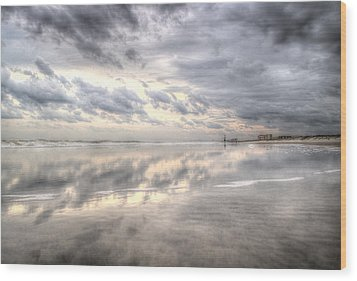 Wood Print featuring the photograph Reflections Of Amelia Island by Wade Brooks