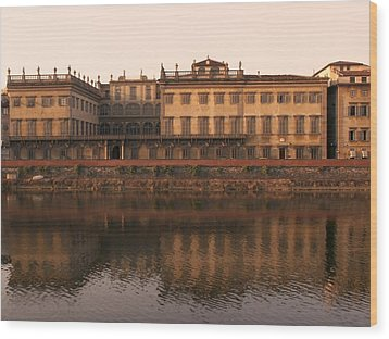 Wood Print featuring the photograph Reflections Of Grandeur by Sandy Molinaro