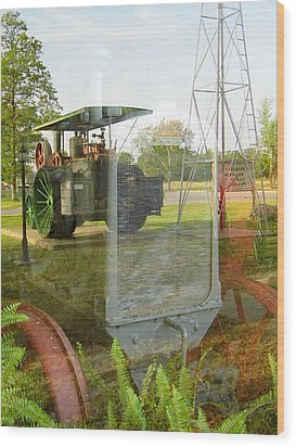 Reflections Of The Past Wood Print by Kay Sparks