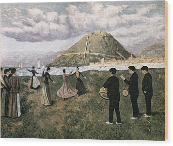 Regoyos, Darío De 1875-1913. Basque Wood Print by Everett
