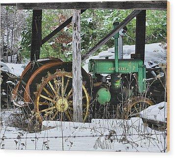 Rein Deere Wood Print