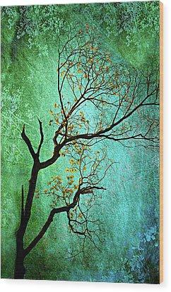 Jade Wood Print by Diana Angstadt