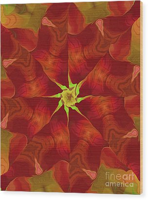Release Of The Heart Wood Print by Deborah Benoit