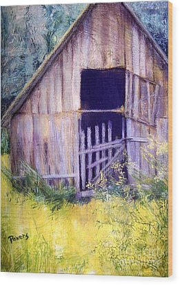 Relic Wood Print by Mary Lynne Powers