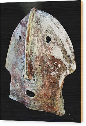 Relics No.3 Wood Print by Mark M  Mellon