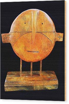 Relics No.7 Wood Print by Mark M  Mellon