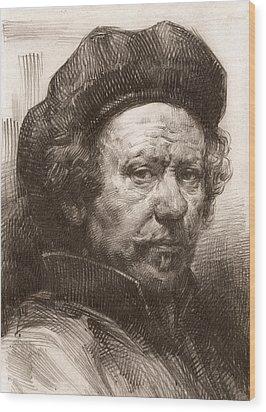 Rembrandt Portrait 1 Wood Print
