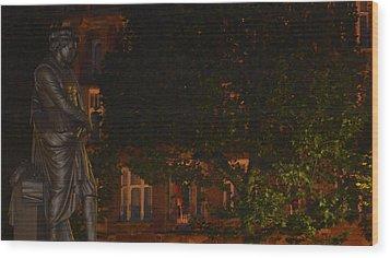 Rembrandt Square Wood Print