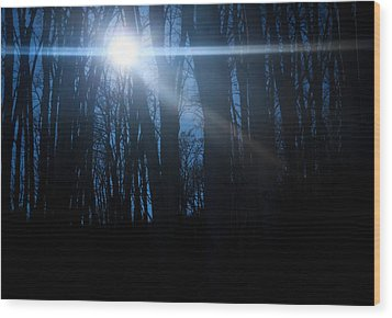 Wood Print featuring the photograph Remember Hope by Peta Thames