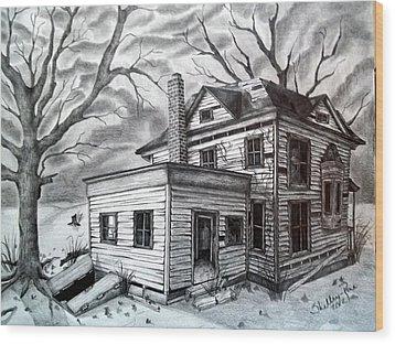Remember Me Wood Print by Shelby Edelman