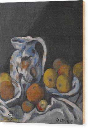 Remembering Cezanne Wood Print