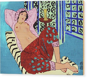 Remembering Matisse Wood Print