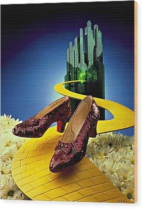 Remembering Oz Wood Print by Allen Beilschmidt