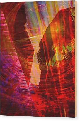 Remembering Wood Print by Shirley Sirois