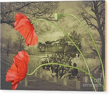 Remembrance Wood Print