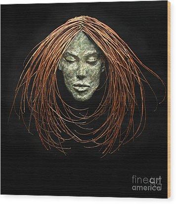 Renewed Solace Wood Print by Adam Long