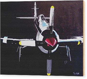 Reno Air Races Wood Print by Paul Guyer