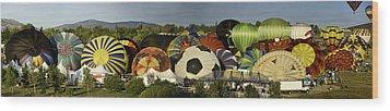 Reno Balloon Race Panorama Wood Print