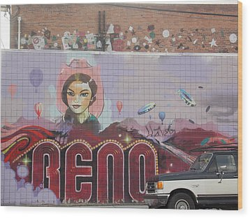Reno Wood Print