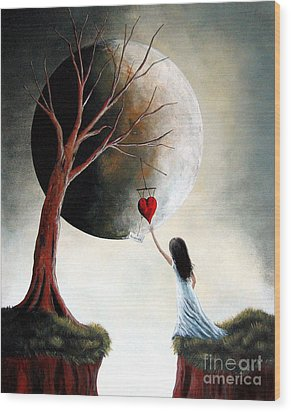 Reserved By Shawna Erback Wood Print by Shawna Erback