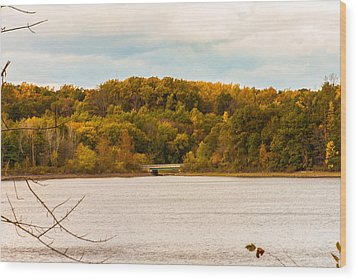 Reservoir Bridge Wood Print