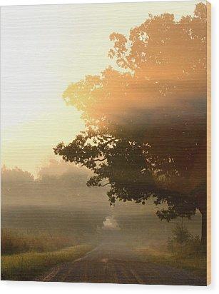 Resonant Wood Print