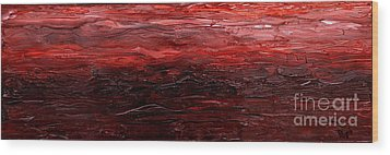Restimulate Wood Print by Paul Anderson