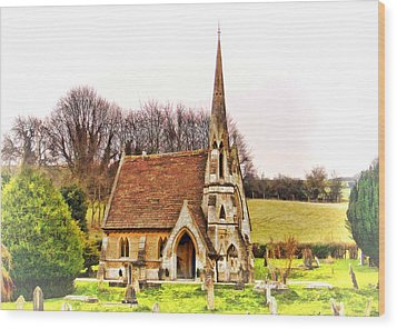Wood Print featuring the photograph Resting Place 01 by Paul Gulliver