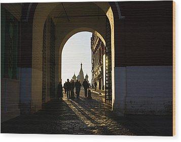 Resurrection Gate Wood Print by Alexander Senin