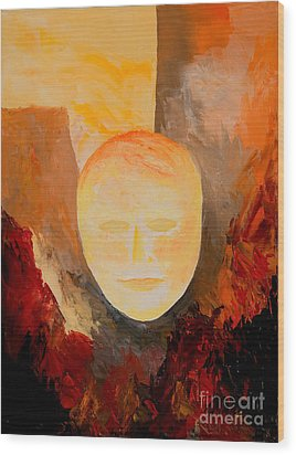 Resurrection Wood Print by Larry Martin