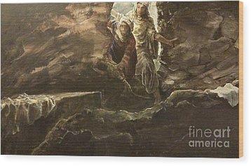 Resurrection Sunday Wood Print