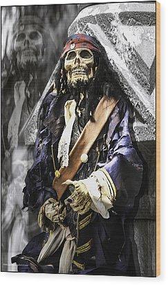 Return Of The Pirate Wood Print by LeeAnn McLaneGoetz McLaneGoetzStudioLLCcom