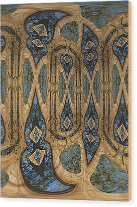 Return To Norwegian Wood Wood Print by Wendy J St Christopher