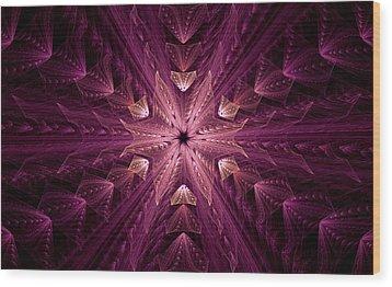 Wood Print featuring the digital art Returning Home by GJ Blackman