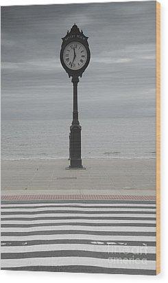Revere Beach Wood Print by Juli Scalzi