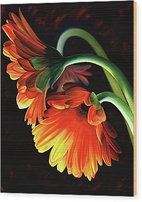 Reverence Wood Print by Stephen Kenneth Hackley