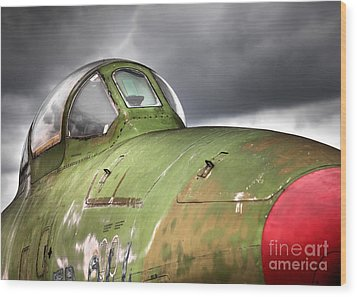 Rf-84 Thunderflash Wood Print