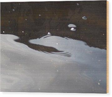 Rhea's Landing Wood Print