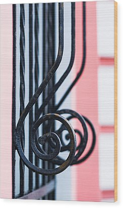 Rhythm Of Architecture - Vertical Format Wood Print by Alexander Senin