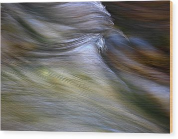 Rhythm Of The River Wood Print by Michael Eingle