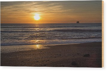 Rialto Beach Sunset Wood Print by Pierre Leclerc Photography
