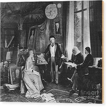 Richard Wagner Wood Print by Granger