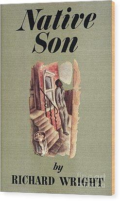 Richard Wright: Native Son Wood Print by Granger