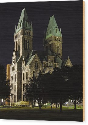 Richardson Olmsted Complex From The Lawn Wood Print