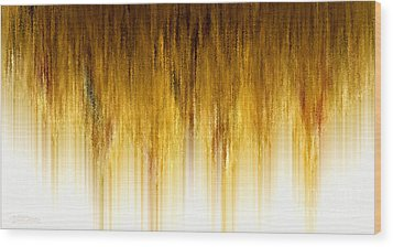 Riches Descending Wood Print by Cristophers Dream Artistry