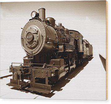 Wood Print featuring the photograph Riding The 410 by Raymond Earley