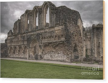Rievaux Abbey Wood Print